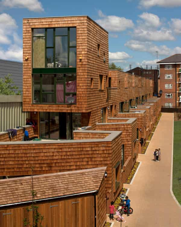 New blocks for the kids … affordable housing in Stepney Green.