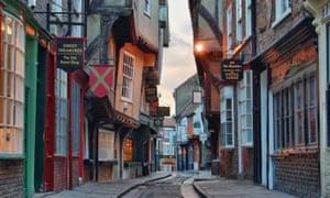 The Shambles in historic York.