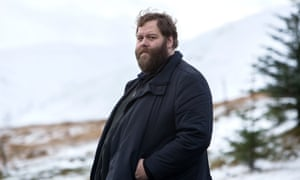 Iceland's leading grizzly dreamboat; Andri (Ólafur Darri Ólafsson) in Trapped.