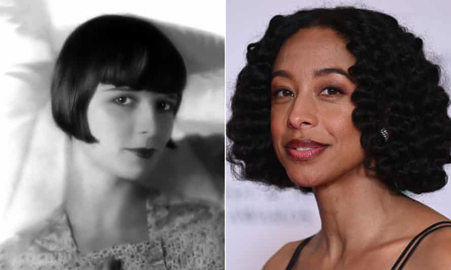 The actor Louise Brooks in 1926 and Corinne Bailey Rae this year