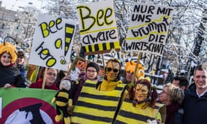 'Save the bees' rally in Munich
