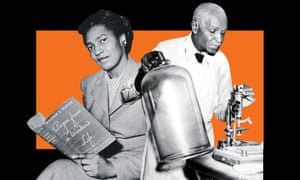 The Communist leader Claudia Jones, 1948; right, the inventor and scientist George Washington Carver, 1937.