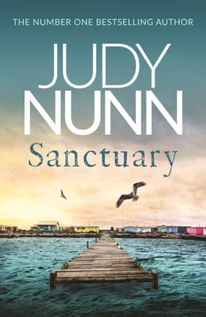 Cover image for Sanctuary, a novel by Judy Nunn
