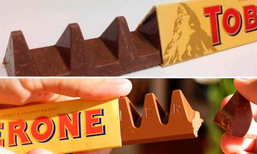 Toblerone, new v old