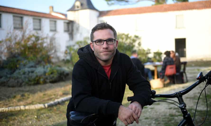 Grégory Gendre, mayor of Dolus-d'Oléron