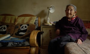 Survivor … one of Wang Bing's interviewees in Dead Souls