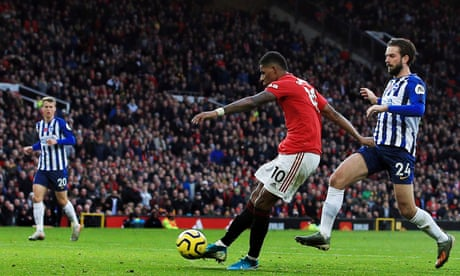 Marcus Rashford inspires Manchester United to simple win over Brighton