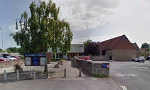 Google maps view of Christ Church in Abingdon