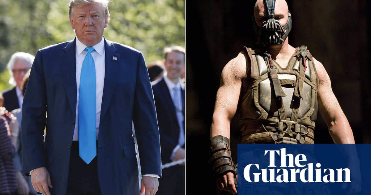 Why Is Donald Trump Obsessed With Bane In The Dark Knight Rises Film The Guardian