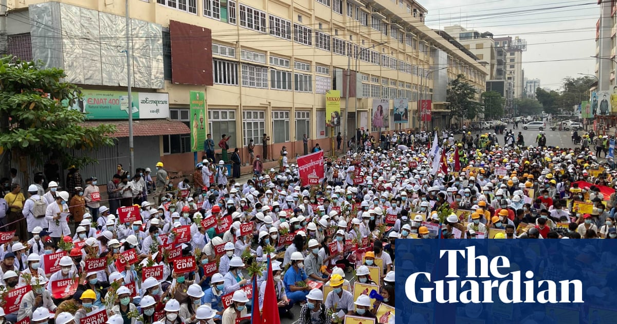 Myanmar coup: Facebook shuts down military's page, as thousands protest
