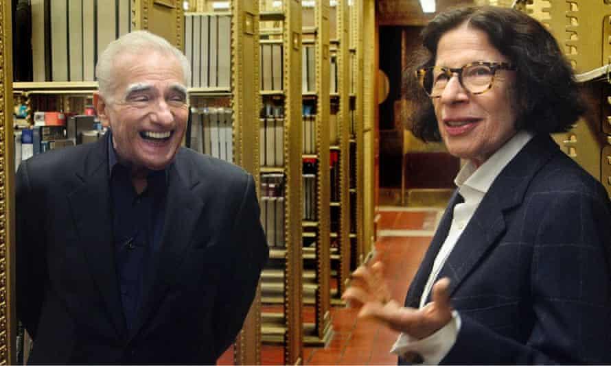 With Martin Scorsese in Pretend It's a City.