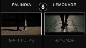 Similarity No 8: 'Feet on the street'