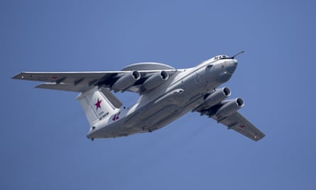 A Russian A-50 early warning aircraft violated South Korea's airspace during a joint operation with Chinese bombers.