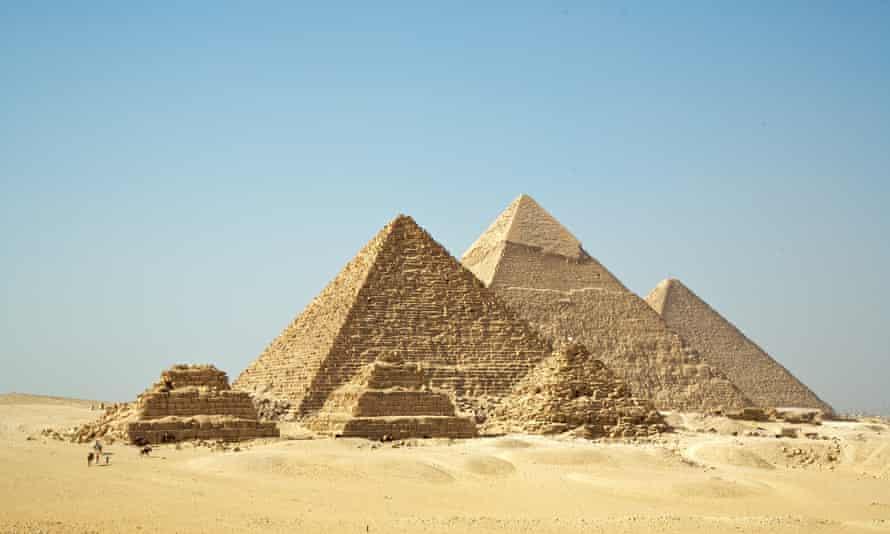 The Pyramids of Egypt.