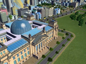 Berlin. Beginning with American-style buildings only, gamers were given a free update shortly after the release, bringing 72 new European buildings to the game.