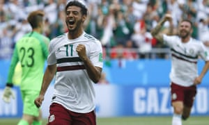 Los Angeles FC's Carlos Vela has played a crucial role in Mexico's strong start to the World Cup