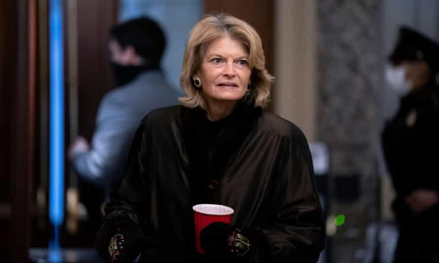 Senator Lisa Murkowski of Alaska, who faces re-election new year, voted to convict Donald Trump in his impeachment trial.