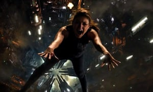 Mila Kunis in Jupiter Ascending: about to get razzed?