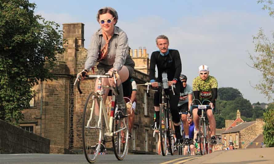 Retro riders on the Eroica Britannia.