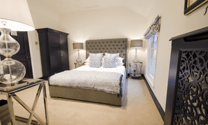 A room at the Black Lion, Long Melford, Suffolk