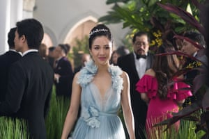 It's a mad, mad world: Constance Wu as Rachel Chu.