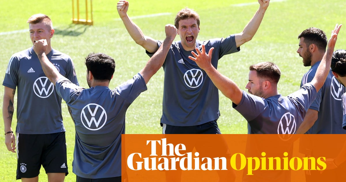 Germany's reputation precedes them – but this team are the ersatz version