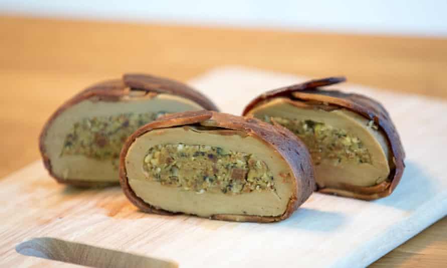 Mmmm: 'Mheat' vegan roast from Sgaia.