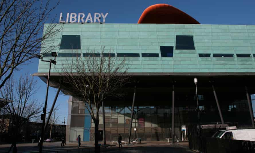 Peckham library, from where it is possible to trace the route of the Grand Surrey canal.