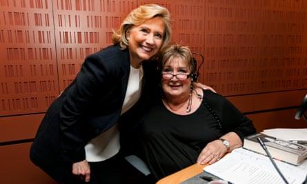 Jenni Murray with Hillary Clinton
