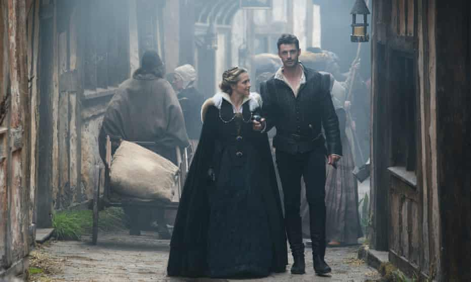 Teresa Palmer and Matthew Goode in A Discovery of Witches