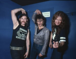 Anti-widdly-woo: Lemmy, Phil Taylor and Eddie Clarke.