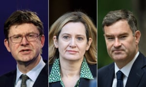 Greg Clark, Amber Rudd and David Gauke