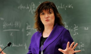 Nicky Morgan, the education secretary