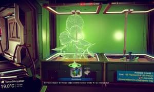 A hydroponics lab.