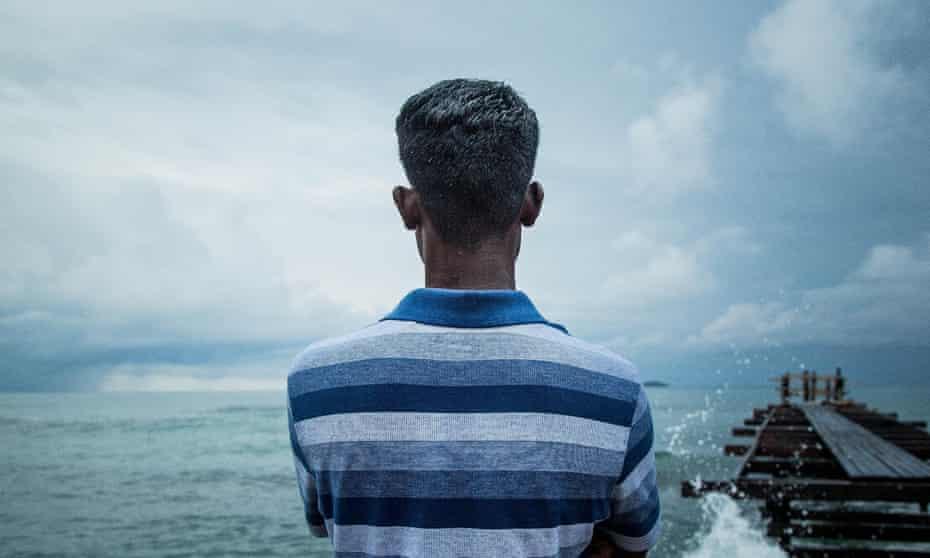A Manus Island detainee