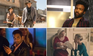 Elisabeth Moss, Donald Glover, and Aziz Ansari all scored individual acting nominations