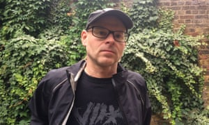 Former Addison Lee cycle courier Chris Gascoigne, 48.