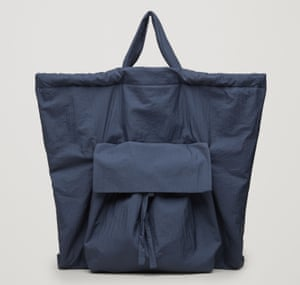 Cos gathered tote bag, £45