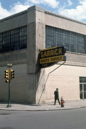 Garrick Photo Supply, Cass Avenue and Peterboro Street, c 1970