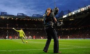 Premier League TV cameras