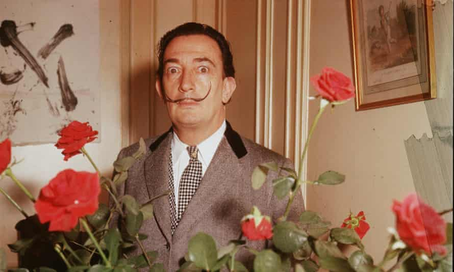 Pilar Abel claims to be the only child of Salvador Dalí, above, and therefore, under Spanish law, heir to a quarter of his fortune.