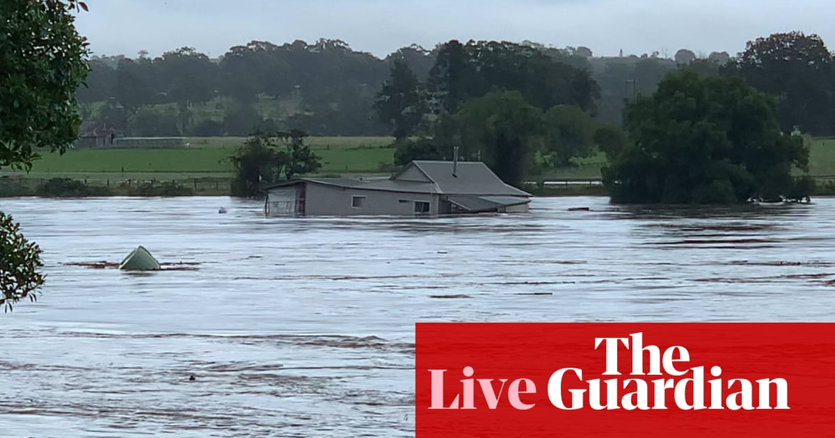 NSW weather live: Warragamba Dam set to spill over as Sydney residents urged to stay home amid flooding, heavy rain