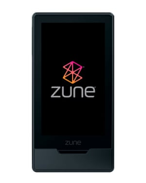 The Zune player.