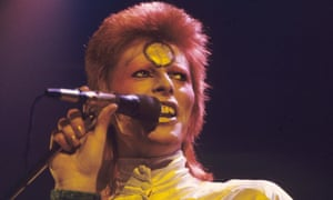 One of Bowie's most memorable incarnations - Ziggy Stardust