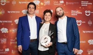 Executive chef of Barrafina, Adelaide Street, Nieves Barragán Mohacho holds the award for Best Restaurant