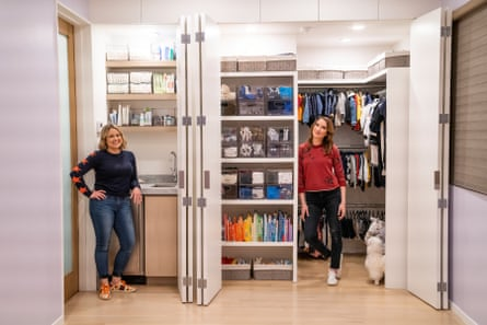 Joanna Teplin and Clea Shearer in Get Organized With the Home Edit.
