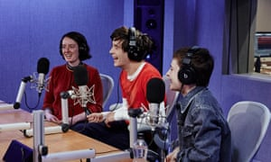 From left: Laura Snapes, The 1975's Matty Healy, and French singer-songwriter Chris discuss the Brits 2019 and the #MeToo movement in music.