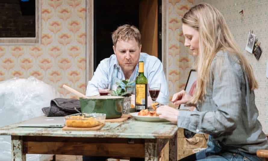 Samuel West and Romola Garai in Ella Hickson's divisive new play The Writer.