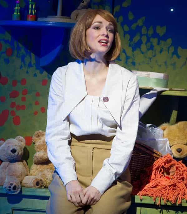 Melancholy … Amy Griffiths as Truly Scrumptious.