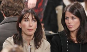 Samantha Cameron pictured in 2011 with Isabel Spearman